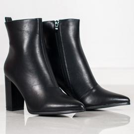 Seastar Eco-leather boots black 2