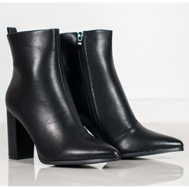 Seastar Eco-leather boots black 7