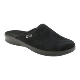 Befado men's shoes pu 548M020 black 2