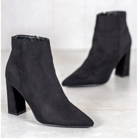 SHELOVET Boots With Spitz black 3