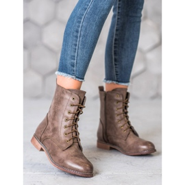 Super Me High Boots With Eco Leather brown 1