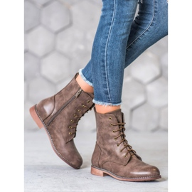 Super Me High Boots With Eco Leather brown 5
