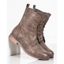 Super Me High Boots With Eco Leather brown 2