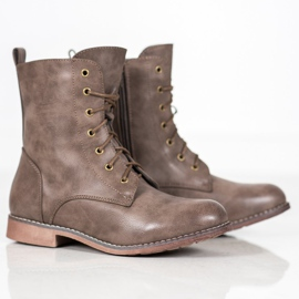 Super Me High Boots With Eco Leather brown 3
