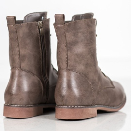 Super Me High Boots With Eco Leather brown 4