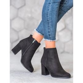 Marquiz Black suede boots 2