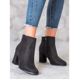 Marquiz Black suede boots 3