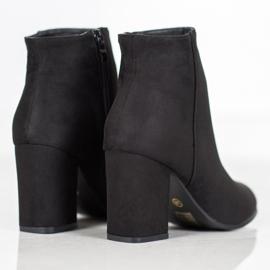 Marquiz Black suede boots 1