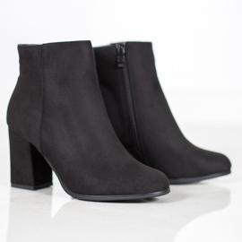 Marquiz Black suede boots 4