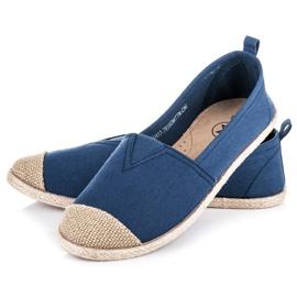 Mckeylor Espadrilles ballerinas blue 1