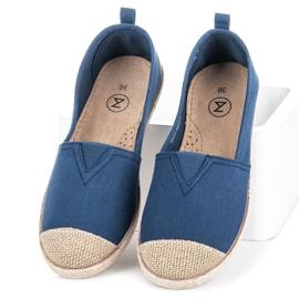 Mckeylor Espadrilles ballerinas blue 2