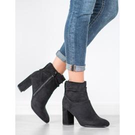SHELOVET Classic high-heeled boots black 1