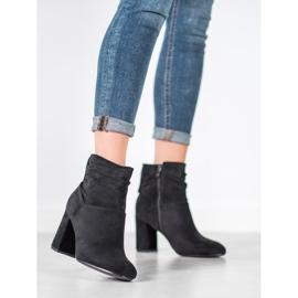 SHELOVET Classic high-heeled boots black 2
