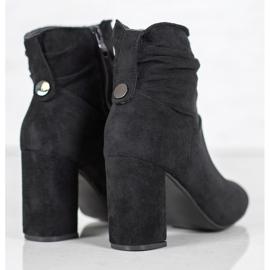 SHELOVET Classic high-heeled boots black 5