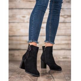 Filippo Stylish suede boots black 2