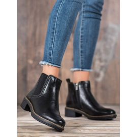 Filippo Black Eco Leather Booties 4