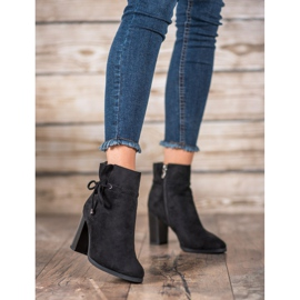 Goodin Boots With Bow black 2