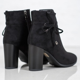 Goodin Boots With Bow black 5