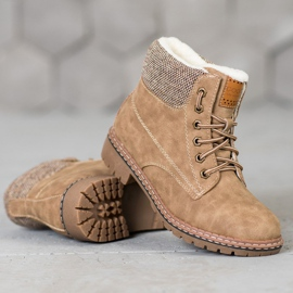 Goodin Trappers With Sheepskin brown 1