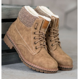 Goodin Trappers With Sheepskin brown 2