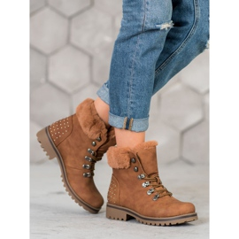 SHELOVET Trappers With Jets brown 1