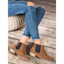 Goodin Leather Chelsea boots brown 4