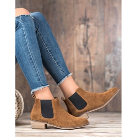 Goodin Leather Chelsea boots brown 3