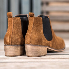 Goodin Leather Chelsea boots brown 1