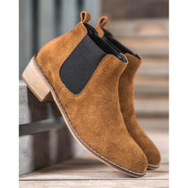 Goodin Leather Chelsea boots brown 2