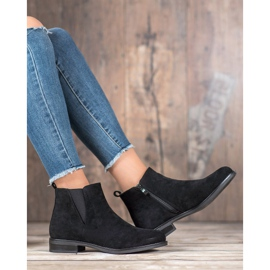 Ideal Shoes Slip-on boots black 4