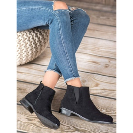Ideal Shoes Slip-on boots black 5