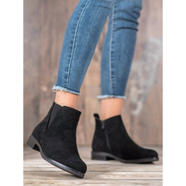 Ideal Shoes Slip-on boots black 1