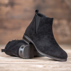 Ideal Shoes Slip-on boots black 2
