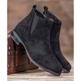Ideal Shoes Slip-on boots black 3