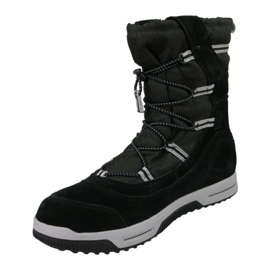 Timberland Snow Stomper Pull On Wp Jr A1UIK winter shoes black 1