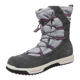 Timberland Snow Stomper Pull On Wp Jr A1UJ7 winter boots grey 1