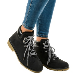 Black insulated boots DS1702 1