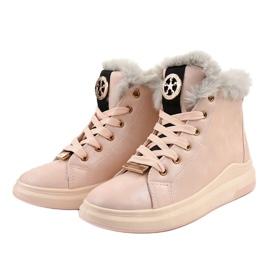 Warm pink sneakers TL135-3 2