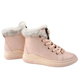 Warm pink sneakers TL135-3 3
