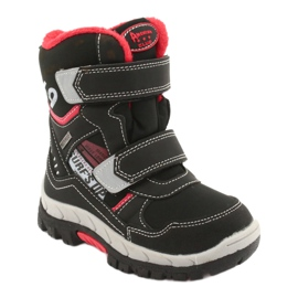 American Club boots with a membrane RL34 black 1