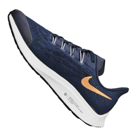 Nike Air Zoom Pegasus 36 Jr AR4149-401 shoes navy 3