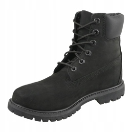 Timberland 6 Premium In Boot Jr 8658A shoes black 1