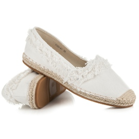Vices White Espadrilles With Tassels 5