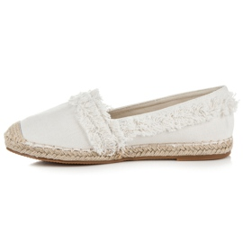Vices White Espadrilles With Tassels 4