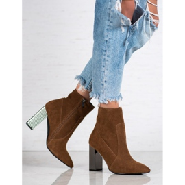 Goodin Sexy leather boots brown 2