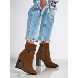 Goodin Sexy leather boots brown 3