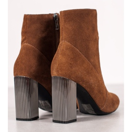 Goodin Sexy leather boots brown 1