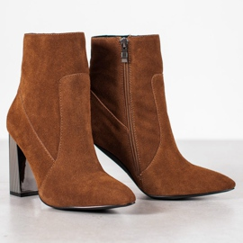 Goodin Sexy leather boots brown 6