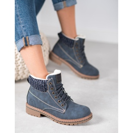 Goodin Trappers With Sheepskin blue 3