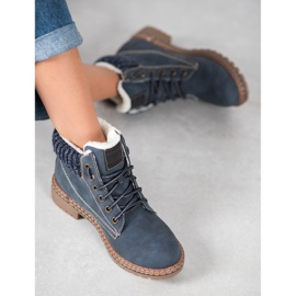 Goodin Trappers With Sheepskin blue 2